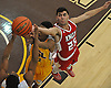 Nik Cazacu #25 of The Knox School (St. James), right, battles for a rebound during a non-league game against Our Saviour Lutheran (Bronx) in the inaugural Empire Invitational at Adelphi University on Saturday, Jan. 7, 2017. Lutheran defeated Knox by a score of 74-66.