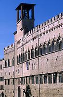Europe/Italie/Ombrie/Pérouse : Palais des Prieurs - Galerie nationale de l'Ombrie place du 4 novembre