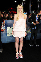 LOS ANGELES, CA - NOVEMBER 12: Elle Fanning at the premiere of 'The Twilight Saga: Breaking Dawn - Part 2' at Nokia Theater L.A. Live on November 12, 2012 in Los Angeles, California.  Credit: MediaPunch Inc. /NortePhoto