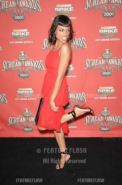 ROSARIO DAWSON at the Spike TV Scream Awards 2006 at the Pantages Theatre, Hollywood..October 7, 2006  Los Angeles, CA.Picture: Paul Smith / Featureflash