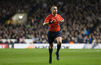Referee Ivan Bebek during the UEFA Europa League group match between Tottenham Hotspur and Monaco at White Hart Lane, London, England on 10 December 2015. Photo by Andy Rowland.
