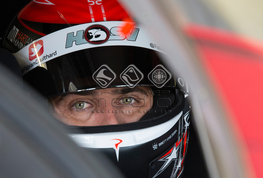 Fabian Coulthard of Brad Jones Racing during the Winton 400, Event 03 of the 2014 Australian V8 Supercars Championship Series at the Winton Motor Raceway, Winton, Victoria, April 04, 2014.<br /> &copy; Sport the library / Mark Horsburgh