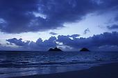 Aug. 10, 2008; Kailua, HI - View of Mokulua Islands at sunrise from Lanikai Beach...Photo credit: Darrell Miho