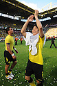 Shinji Kagawa (Dortmund), MAY 14th, 2011 - Football : Shinji Kagawa of Dortmund celebrates after the Bundesliga match between Borussia Dortmund 3-1 Eintracht Frankfurt at the Signal Iduna Park in Dortmund, Germany. (Photo by FAR EAST PRESS/AFLO)..