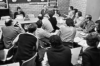 1989, ABN Tennis toernooi, Persconferentie met Jimmy Connors