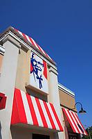 Toronto (ON) CANADA - July 2012 - Queen street west -Kentucky Fried Chicken (KFC) fast food restaurant