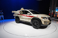 NEW YORK, NY - APRIL 12: A Star Wars themed Nissan Motor Co. Rogue vehicle sits on display at the New York International Auto Show, at the Jacob K. Javits Convention Center on April 12, 2017 in Manhattan, New York. Photo by VIEWpress/Eduardo MunozAlvarez