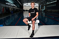 Chris Arbuthnott, New Zealand swimming team announcement for the 2018 Commonwealth Games. Sir Owen G. Glenn National Aquatic Centre, Auckland. 22 December 2017. Copyright Image: William Booth / www.photosport.nz
