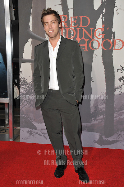 "Lance Bass at the Los Angeles premiere of ""Red Riding Hood"" at Grauman's Chinese Theatre, Hollywood..March 7, 2011  Los Angeles, CA.Picture: Paul Smith / Featureflash"