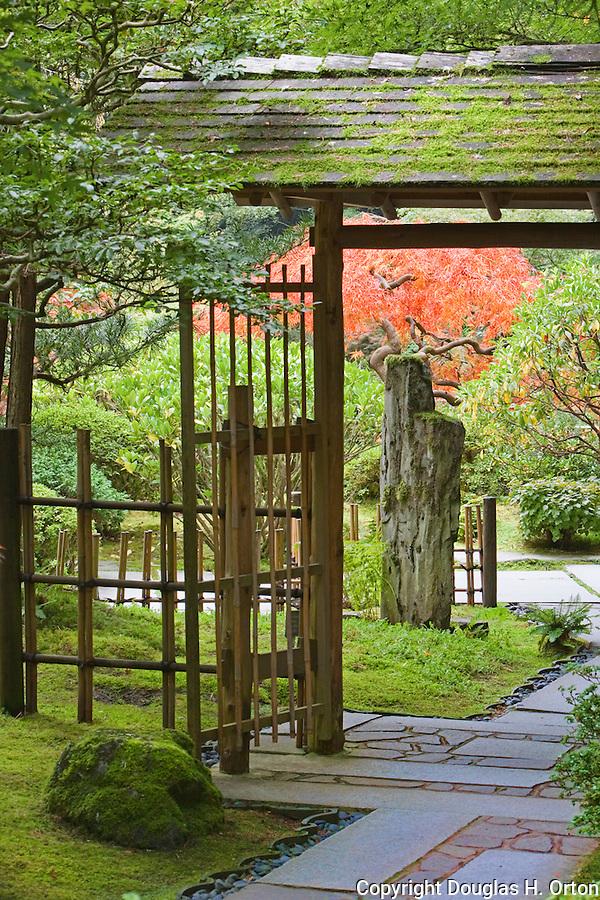 Japanese Garden Gate tea garden gate. portland, oregon japanese garden. | douglas orton