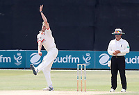 Matt Quinn of Essex in bowling action during Essex CCC vs Warwickshire CCC, Specsavers County Championship Division 1 Cricket at The Cloudfm County Ground on 16th July 2019