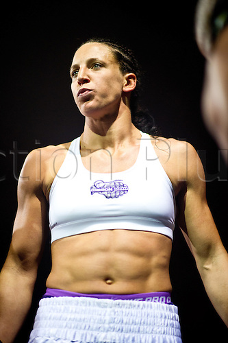 24.06.2011, Washinton, USA.  Julia Budd enters the arena during STRIKEFORCE Challengers at the ShoWare Center in Kent, Washington.