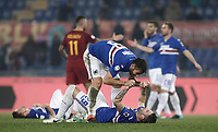 20180128 ROMA-CALCIO: LA SAMPDORIA BATTE LA ROMA ALL'OLIMPICO 1-0