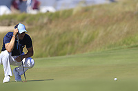 Martin Kaymer (GER) at the 16th green during Thursday's Round 1 of the 118th U.S. Open Championship 2018, held at Shinnecock Hills Club, Southampton, New Jersey, USA. 14th June 2018.<br /> Picture: Eoin Clarke | Golffile<br /> <br /> <br /> All photos usage must carry mandatory copyright credit (&copy; Golffile | Eoin Clarke)