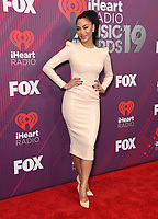 14 March 2019 - Los Angeles, California - Nicole Scherzinger. 2019 iHeart Radio Music Awards - Press Room held at Microsoft Theater. Photo Credit: Birdie Thompson/AdMedia