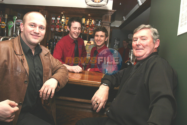 Rolf Misik, Justin Molloy, Eoghan Khan and Joe Finnegan in Barocca....Photo NEWSFILE/Jenny Matthews.(Photo credit should read Jenny Matthews/NEWSFILE)....This Picture has been sent you under the condtions enclosed by:.Newsfile Ltd..The Studio,.Millmount Abbey,.Drogheda,.Co Meath..Ireland..Tel: +353(0)41-9871240.Fax: +353(0)41-9871260.GSM: +353(0)86-2500958.email: pictures@newsfile.ie.www.newsfile.ie.FTP: 193.120.102.198.