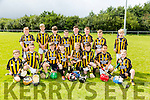 Abbeydorney under 10's at the Tralee Parnells Hurling and Camogie blitz on Saturday at the John Mitchels complex