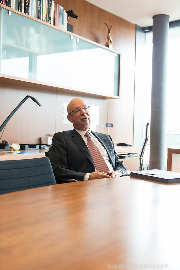 World Economic Forum; Geneve; Prof. Klaus Schwab; 2013.10.01; Geneva