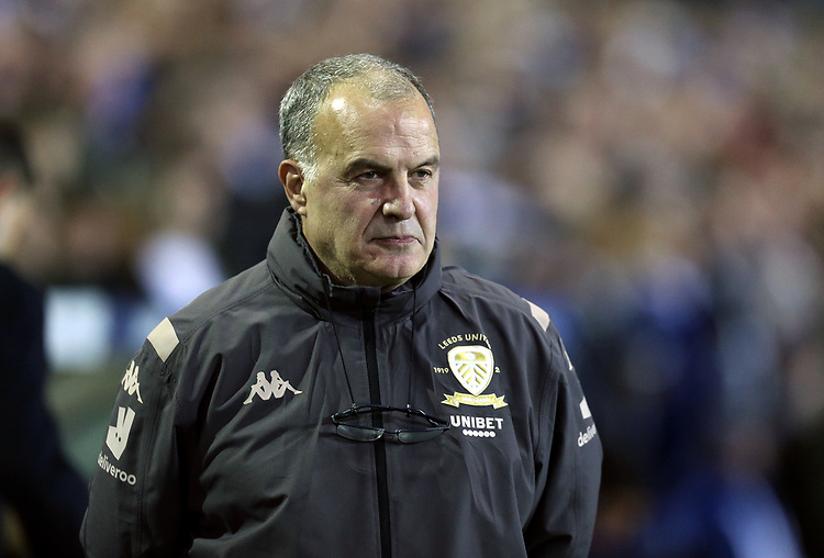 Leeds United manager Marcelo Bielsa <br /> <br /> Photographer Rich Linley/CameraSport<br /> <br /> The EFL Sky Bet Championship - Tuesday 1st October 2019  - Leeds United v West Bromwich Albion - Elland Road - Leeds<br /> <br /> World Copyright © 2019 CameraSport. All rights reserved. 43 Linden Ave. Countesthorpe. Leicester. England. LE8 5PG - Tel: +44 (0) 116 277 4147 - admin@camerasport.com - www.camerasport.com