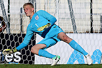 England goalkeeper, Ryan Schofield during England Under-18 vs Ivory Coast Under-20, Toulon Tournament Final Football at Stade de Lattre-de-Tassigny on 10th June 2017