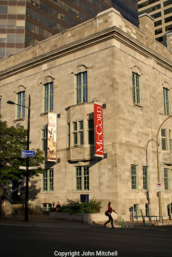 The McCord Museum of Canadian History, Montreal, Quebec, Canada