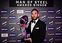 Picture by Simon Wilkinson/SWpix.com - 03/10/2017 - Rugby League BETFRED Super League Man of Steel Awards Dinner 2017 - The Steve Prescott MBE Man of Steel - LUKE GALE