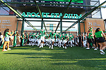 DENTON, TX - SEPTEMBER 01: Mean Green football vs SMU Mustangs at Apogee Stadium in Denton on September 01, 2018 in Denton, Texas. (Photo by Rick Yeatts)
