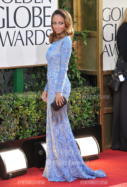 Nicole Richie at the 70th Golden Globe Awards at the Beverly Hilton Hotel..January 13, 2013  Beverly Hills, CA.Picture: Paul Smith / Featureflash