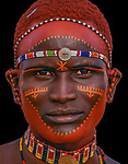 Samburu Tribesman, Kenya<br />
