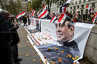 05.11.2015 - Demos Pro & Against Egyptian President Abdel Fattah el-Sisi Visit to the UK