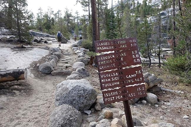 Trail in Yosemite
