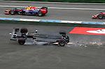 Crash of Felipe Massa (BRA), Williams GP<br />  Foto &copy; nph / Mathis
