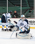 Rob McGovern (Maine - 35) - The University of Maine Black Bears defeated the University of Connecticut Huskies 4-0 at Fenway Park on Saturday, January 14, 2017, in Boston, Massachusetts.