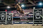 Raena Leung of Hong Kong riding Lalik 2 at the the Massimo Dutti Trophy during the Longines Hong Kong Masters 2015 at the AsiaWorld Expo on 15 February 2015 in Hong Kong, China. Photo by Juan Flor / Power Sport Images