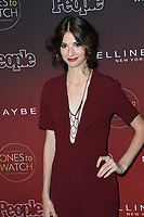 Genevieve Buechner at the 2017 People's &quot;Ones To Watch&quot; event at NeueHouse Hollywood, Los Angeles, USA 04 Oct. 2017<br /> Picture: Paul Smith/Featureflash/SilverHub 0208 004 5359 sales@silverhubmedia.com