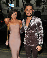 Gareth Gates, Faye Brookes at the DIVA Magazine Awards 2018, Waldorf Hilton Hotel, Aldwych, London, England, UK, on Friday 08 June 2018.<br /> CAP/CAN<br /> &copy;CAN/Capital Pictures