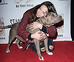 Whitney Cummings and Angel attends The 4th Annual Stand Up for Pits event at the Hollywood Improv in West Hollywood, California on November 02,2014                                                                               © 2014 Hollywood Press Agency
