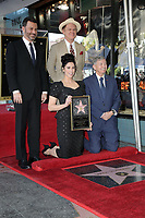 LOS ANGELES - NOV 9:  Jimmy Kimmel, John C Reilly, Sarah Silverman, Leron Gubler at the Sarah Silverman Star Ceremony on the Hollywood Walk of Fame on November 9, 2018 in Los Angeles, CA