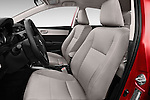 Front seat view of 2016 Toyota Corolla LE Plus 4 Door Sedan Front Seat car photos