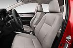Front seat view of 2016 Toyota Corolla LE Plus 4 Door Sedan Front Seat car photos