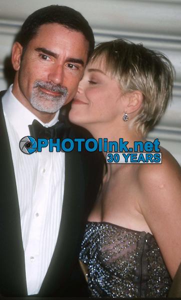 Phil Bronstein Sharon Stone 1999<br /> John Barrett/PHOTOlink.net