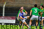 Templenoe's Brian Crowley and Curraha's Sean O'Hanrahan in the AIB GAA Football All Ireland Junior Club Championship.