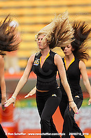 July 18, 2009; Hamilton, ON, CAN; Hamilton Tiger-Cats cheerleaders. CFL football: Winnipeg Blue Bombers vs. Hamilton Tiger-Cats at Ivor Wynne Stadium. The Tiger-Cats defeated the Blue Bombers 25-13. Mandatory Credit: Ron Scheffler. Copyright (c) 2009 Ron Scheffler.