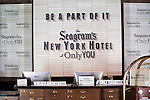 The new Seagram's New York Hotel at Only You in Madrid, Spain. November 30, 2016. (ALTERPHOTOS/BorjaB.Hojas)