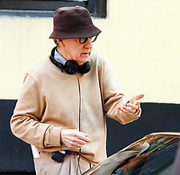 NEW YORK, NY September 11, 2017  Woody Allen shooting on location for Untitled Woody Allen Project in New York September 11,  2017.<br /> CAP/MPI/RW<br /> &copy;RW/MPI/Capital Pictures
