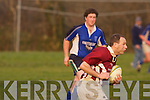 Killorglin v Shandon in their Junior II Cup quarter-final on Friday..