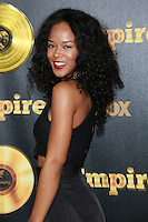 HOLLYWOOD, LOS ANGELES, CA, USA - JANUARY 06: Serayah at the Los Angeles Premiere Of FOX's 'Empire' held at ArcLight Cinemas Cinerama Dome on January 6, 2015 in Hollywood, Los Angeles, California, United States. (Photo by David Acosta/Celebrity Monitor)