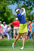 Kim Kaufman (USA) watches her tee shot on 2 during Saturday's round 3 of the 2017 KPMG Women's PGA Championship, at Olympia Fields Country Club, Olympia Fields, Illinois. 7/1/2017.<br /> Picture: Golffile | Ken Murray<br /> <br /> <br /> All photo usage must carry mandatory copyright credit (&copy; Golffile | Ken Murray)