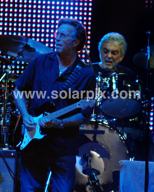 **ALL ROUND PICTURES FROM SOLARPIX.COM**.**WORLDWIDE SYNDICATION RIGHTS**.Eric Clapton live in concert at the Liverpool Echo Arena, Liverpool, UK. 13 May 2009.This pic: Eric Clapton..JOB REF: 8987 SGD     DATE: 13_05_2009.**MUST CREDIT SOLARPIX.COM OR DOUBLE FEE WILL BE CHARGED**.***ONLINE USAGE FEE GBP 50.00 PER PICTURE - NOTIFICATION OF USAGE TO PHOTO @ SOLARPIX.COM**.**CALL SOLARPIX : +34 952 811 768 or LOW RATE FROM UK 0844 617 7637**