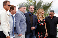 Stacy Keach, John Travolta, Kelly Preston at  the photocall for 'Rendezvous With John Travolta - Gotti' during the 71st annual Cannes Film Festival at Palais des Festivals on May 15, 2018 in Cannes, France.<br /> CAP/GOL<br /> &copy;GOL/Capital Pictures